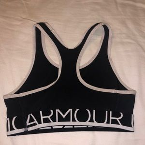 Under Armour Intimates & Sleepwear - black under armour sports bra